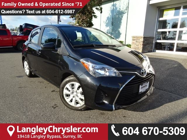 2016 TOYOTA YARIS LE *ACCIDENT FREE*ONE OWNER*LOCAL BC CAR* in Surrey, British Columbia
