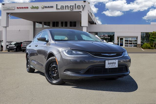 2016 CHRYSLER 200 LX *ACCIDENT FREE*ONE OWNER*LOCAL BC CAR* in Surrey, British Columbia