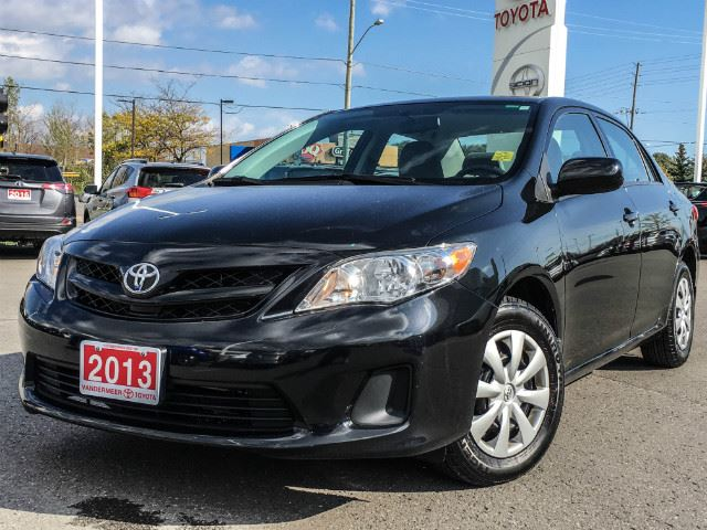 2013 TOYOTA COROLLA   ONE OWNER+SERVICED HERE! in Cobourg, Ontario