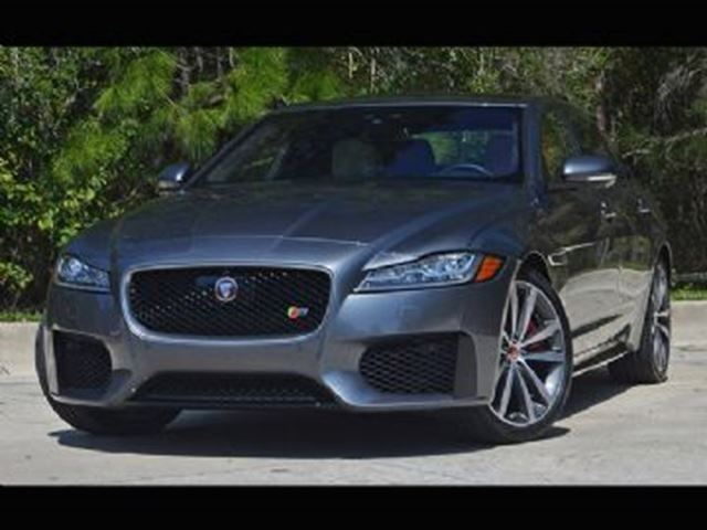2017 JAGUAR XF S AWD in Mississauga, Ontario