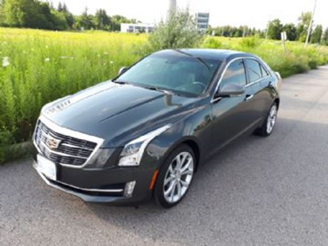 2016 CADILLAC ATS 4dr Sdn 2.0L Premium Collection AWD in Mississauga, Ontario