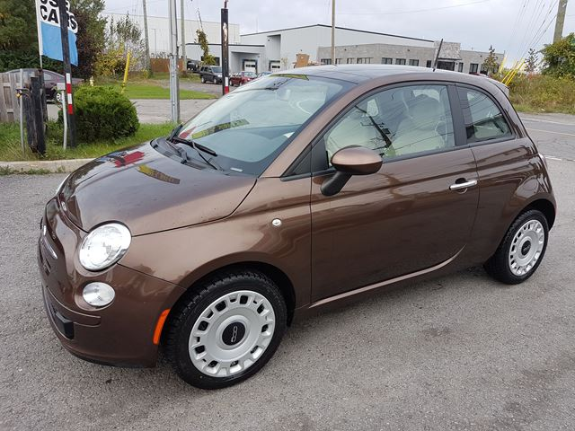2013 FIAT 500 Pop, MANUAL, SUNROOF, ONLY 17KMS in Ottawa, Ontario