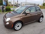 2013 Fiat 500 Pop, MANUAL, SUNROOF, ONLY 17 KMS in Ottawa, Ontario