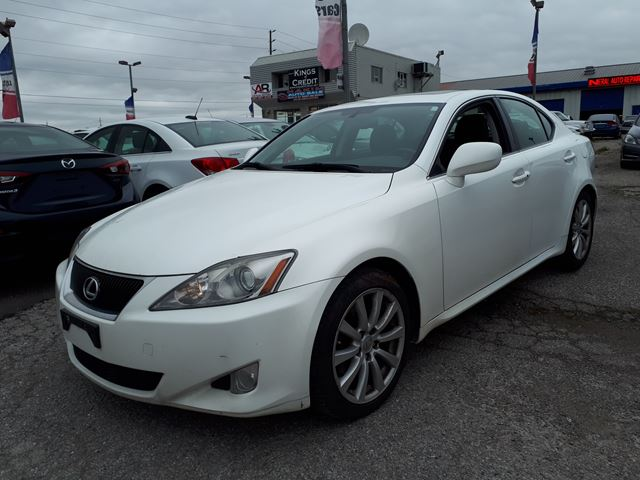 2008 lexus is 250 sunroof white hakim auto sale. Black Bedroom Furniture Sets. Home Design Ideas