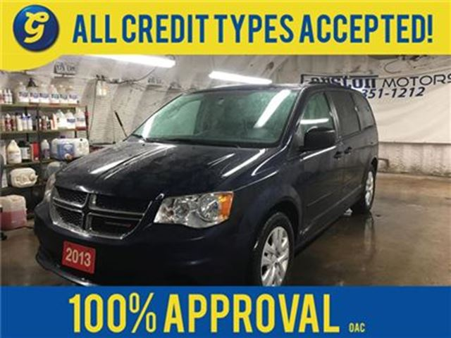 2013 DODGE GRAND CARAVAN SE*DUAL ROW STOW N GO*DUAL ZONE CLIMATE CONTROL*PO in Cambridge, Ontario
