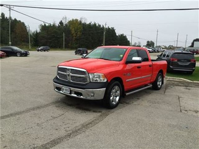 2017 dodge ram 1500 big horn crew cab 4x4 only 8 581 km arthur ontario car for sale 2901170. Black Bedroom Furniture Sets. Home Design Ideas