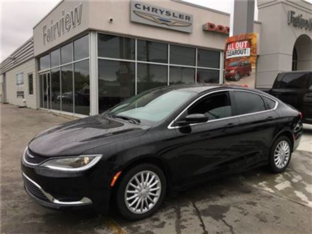 2015 CHRYSLER 200 Limited in Burlington, Ontario