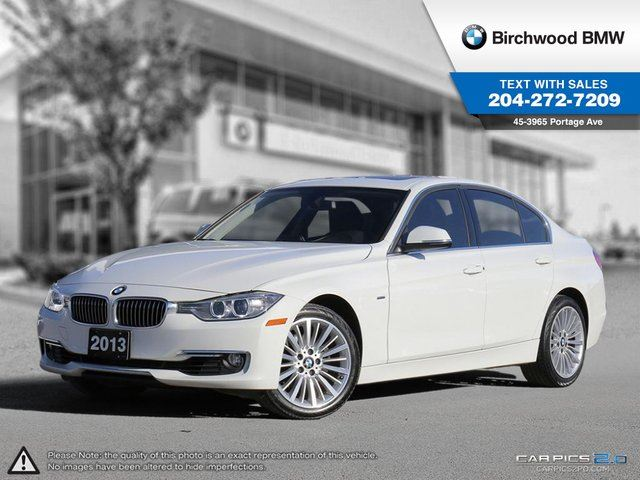 2013 BMW 3 SERIES 328 i 328i xDrive Luxury Line! Lights Package! in Winnipeg, Manitoba