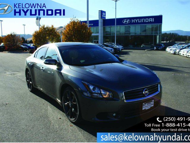 2014 NISSAN MAXIMA SV 4dr Sedan in Kelowna, British Columbia