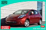 2012 Nissan Leaf *AUTOM*A/C*CAMERA*RECHARGE RAPIDE*BAS KILO* in Longueuil, Quebec