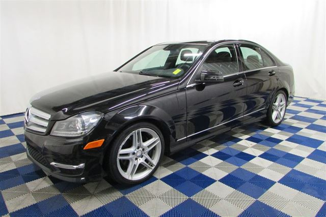 2013 MERCEDES-BENZ C-CLASS 350 4MATIC AWD/LEATHER/MEMORY SEATS/SUNROOF in Winnipeg, Manitoba