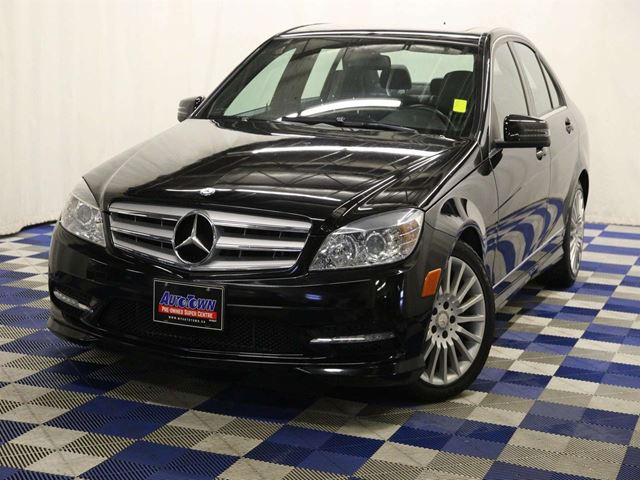 2011 MERCEDES-BENZ C-CLASS C250 4MATIC AWD/SUNROOF/ACCIDENT FREE/HTD SEATS in Winnipeg, Manitoba