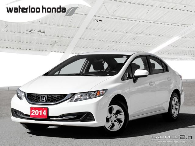 2014 HONDA CIVIC LX One Owner. Automatic, A/C and More! in Waterloo, Ontario