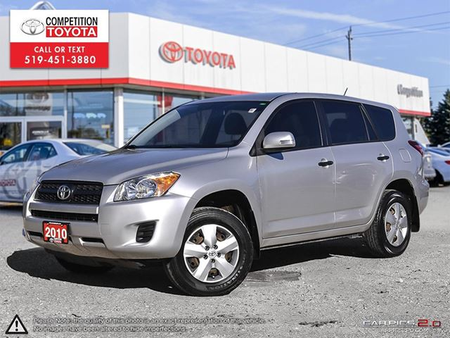2010 TOYOTA RAV4 Base Toyota Serviced, No Accidents in London, Ontario
