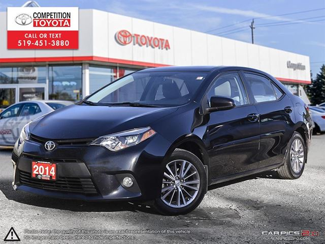 2014 TOYOTA COROLLA LE Toyota Certified, Toyota Serviced, No Accidents in London, Ontario