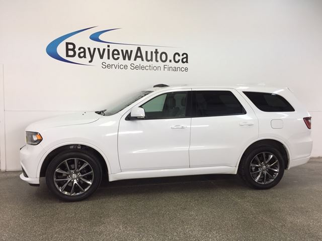 2017 DODGE DURANGO GT- AWD|HITCH|ROOF|HTD LTHR|REV CAM|UCONNECT! in Belleville, Ontario