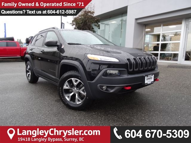 2017 JEEP CHEROKEE Trailhawk *ACCIDENT FREE*ONE OWNER*LOCAL BC CAR* in Surrey, British Columbia