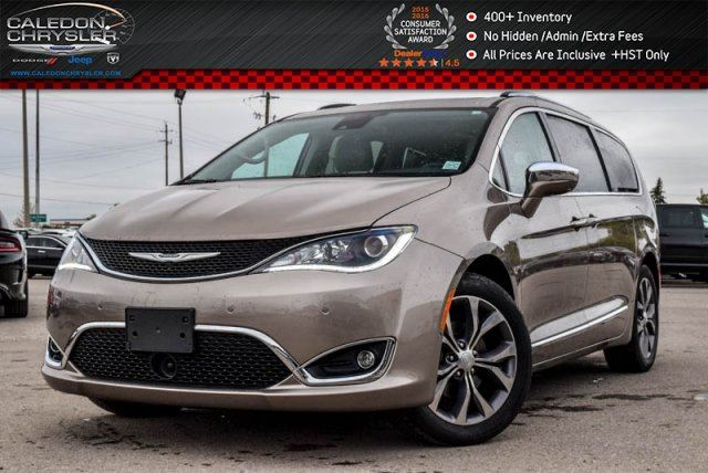 2017 CHRYSLER PACIFICA Limited Platinum Navi DVD Pano Sunroof Backup Cam Safetytec Group  20Alloy in Bolton, Ontario