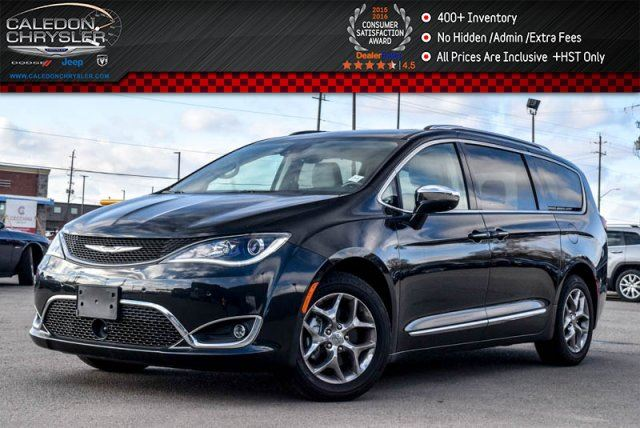 2017 CHRYSLER PACIFICA Limited Platinum Navi Pano Sunroof Backup Cam Safetytec Group Tow Group 20Alloy in Bolton, Ontario