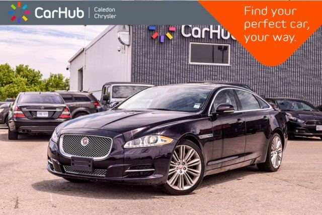 2014 JAGUAR XJ SERIES XJ XJL Portfolio AWD Navi Pano Sunroof Backup Cam Bluetooth Blind Spot leather 19Alloy Rims in Bolton, Ontario