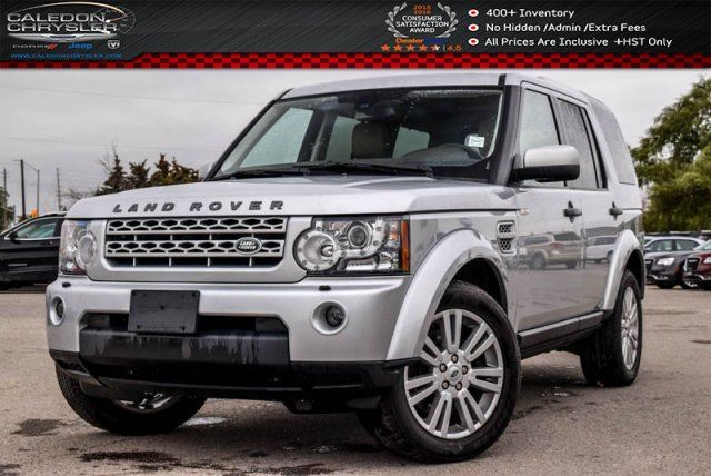 2013 LAND ROVER LR4 4x4 Duale Pane Sunroof Bluetooth Leather Heated Front & Rear Seats 19Alloy Rims in Bolton, Ontario