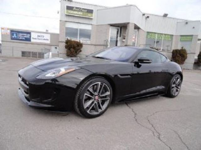 2017 JAGUAR F-TYPE AWD Coupe S in Mississauga, Ontario