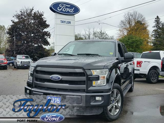 2015 FORD F-150 Lariat *1 OWNER* *SUNROOF* *NAV* in Port Perry, Ontario