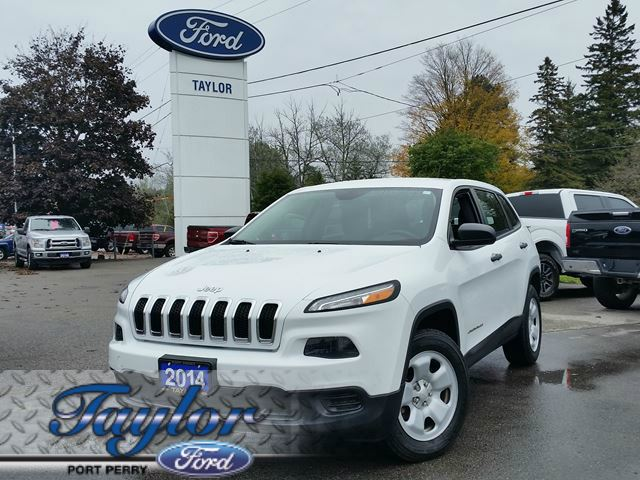 2014 JEEP CHEROKEE Sport *HEATED WHEEL* *HEATED SEATS* in Port Perry, Ontario
