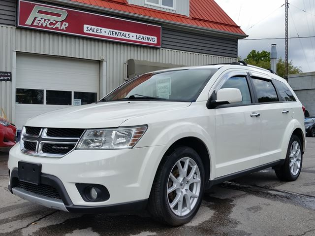 2012 DODGE JOURNEY R/T AWD in Brantford, Ontario