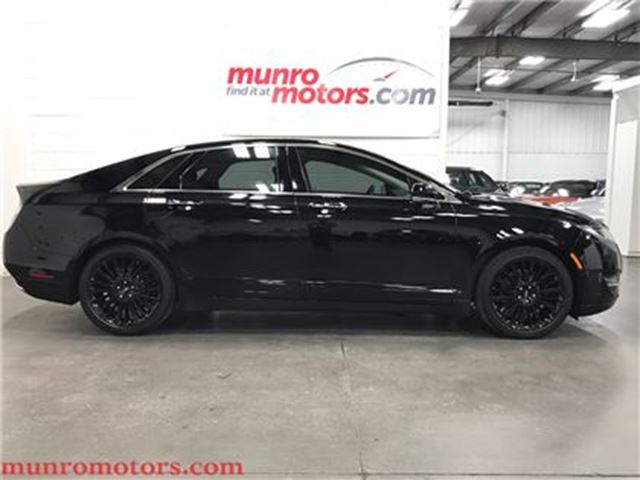 2016 LINCOLN MKZ Navigation Sunroof Black Wheels in St George Brant, Ontario