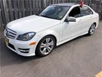 2012 Mercedes-Benz C-Class 300, Auto, Navi, Leather, Sunroof, AWD in Burlington, Ontario