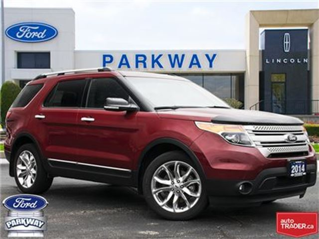 2014 FORD EXPLORER XLT AWD  7 SEAT  LEATHER  GPS in Waterloo, Ontario