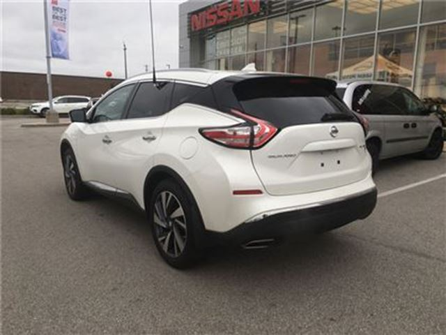 2017 nissan murano platinum burlington ontario car for sale 2902513. Black Bedroom Furniture Sets. Home Design Ideas