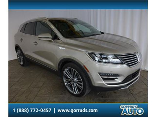 2015 LINCOLN MKC HEATED LEATHER SEATS/NAV/PANO ROOF/BLIND SPOT in Milton, Ontario