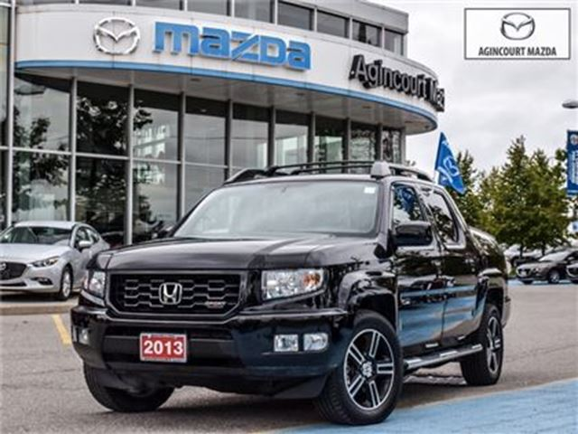 2013 HONDA RIDGELINE Sport-EXTRA CLEAN, SIDE STEPS, TONN COVER in Scarborough, Ontario