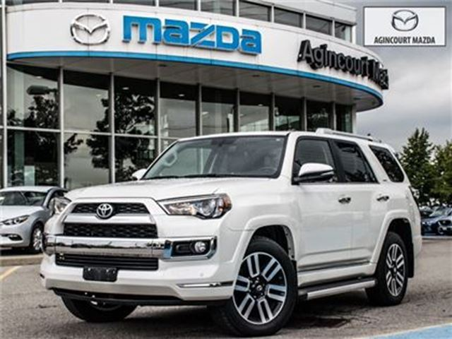 2015 TOYOTA 4RUNNER LIMITED-20 ALLOYS, LEATHER, COOLING SEATS in Scarborough, Ontario