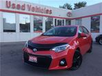 2015 Toyota Corolla S- BLUETOOTH, SUNROOF, ALLOYS, PADDLE SHIFTERS in Toronto, Ontario
