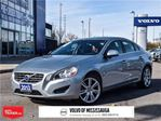 2013 Volvo S60 T6 AWD A LEASE RETURN, DEALER SERVICED, CLEAN CARP in Mississauga, Ontario