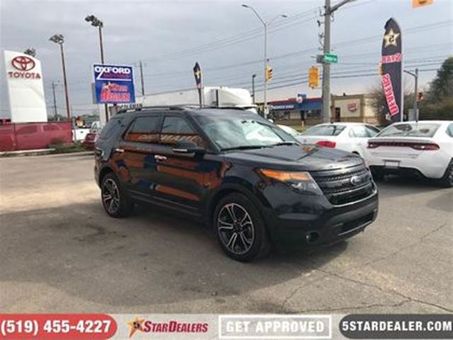 2014 FORD EXPLORER SPORT 4WD in London, Ontario