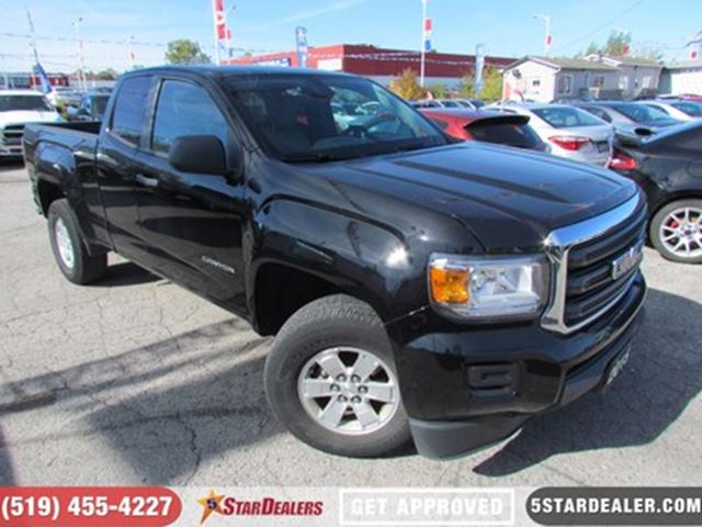 2015 GMC CANYON BASE EXT. CAB 4WD in London, Ontario