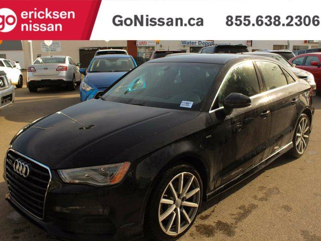 2015 AUDI A3 TECHNIK -QUATTRO, NAVIGATION, LEATHER, SUNROOF in Edmonton, Alberta