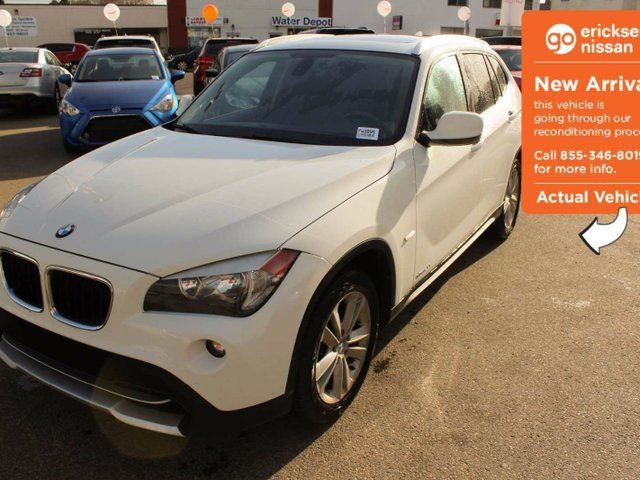 2012 BMW X1 LEATHER, SUNROOF, BLUETOOTH in Edmonton, Alberta