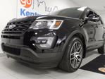 2017 Ford Explorer Sport 4WD ecoboost. Power everything. NAV, sunroof, heated/cooled power leather seats, power liftgate, power rear seats in Edmonton, Alberta