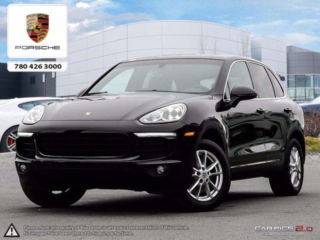 2016 PORSCHE CAYENNE CERTIFIED PRE-OWNED | Premium PKG | Heated & Cooled Seats | Blind-spot in Edmonton, Alberta