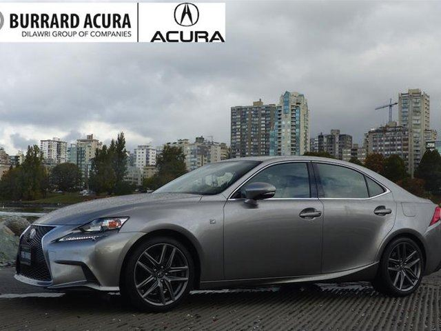 2014 LEXUS IS 250 AWD 6A in Vancouver, British Columbia