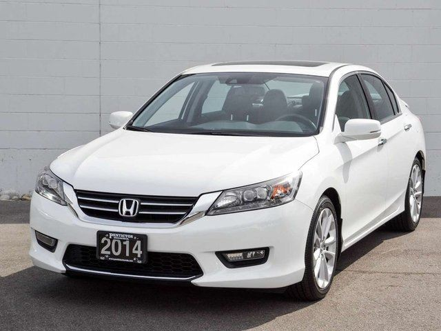 2014 HONDA ACCORD 4D Touring in Kelowna, British Columbia