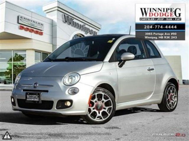 2012 FIAT 500 Sport in Winnipeg, Manitoba