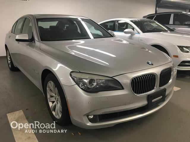 2010 BMW 7 SERIES 4dr Sdn 750i xDrive AWD in Vancouver, British Columbia