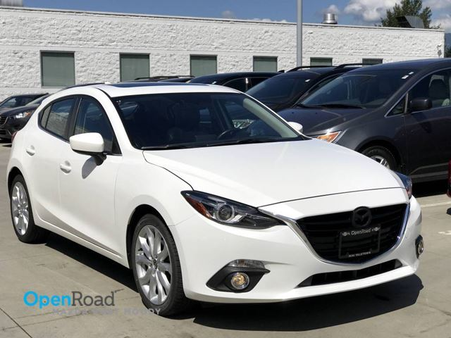 2016 MAZDA MAZDA3 GT A/T Local One Owner Bluetooth USB AUX Navi L in Port Moody, British Columbia