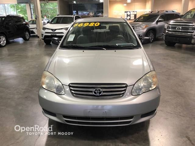 2003 TOYOTA COROLLA CE , AUTO WITH A/C in Port Moody, British Columbia